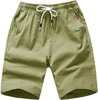 K&S Men's Casual Shorts Workout Fashion Comfy Shorts Summer Breathable Loose Shorts Beach Shorts