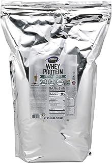 NOW Sports Nutrition, Whey Protein, 24 G With BCAAs, Creamy Chocolate Powder, 10-Pound
