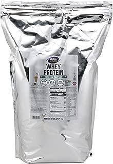 NOW Sports Nutrition, Whey Protein Powder, Creamy Chocolate, 10-Pound