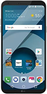 LG Q6-32 GB - Unlocked (AT&T/T-Mobile) - Platinum - Prime Exclusive - with Lockscreen Offers & Ads