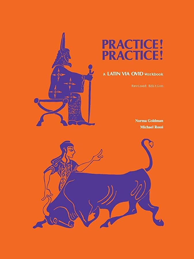 スクラップブックぬいぐるみじゃないPractice! Practice!: A Latin Via Ovid Workbook