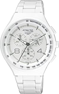 Q&Q Casual Watch For Men Analog Silicone - Da86J001Y, White Band