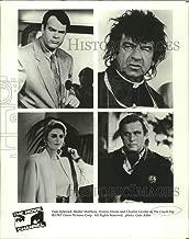 Historic Images - 1987 Press Photo Dan Aykroyd, Walter Matthau & Donna Dixon in The Couch Trip.