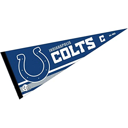 WinCraft Indianapolis Colts Pennant Banner Flag