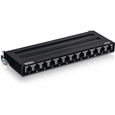 ICC Blank Wall Mount Patch Panel with 8 Ports and Zero-U for EZ and HD Style