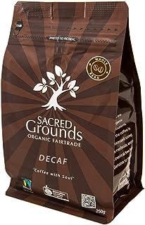 "Sacred Grounds, Organic ""Sacred Blend"" Whole Bean Decaf, 250g"
