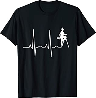Chimney Sweep Heartbeat Fireplace Flue Cleaner Gift Tシャツ
