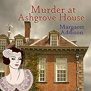 Murder at Ashgrove House audiobook cover art