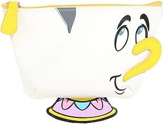 Disney Beauty And The Beast Chip 3D Teacup Makeup Bag