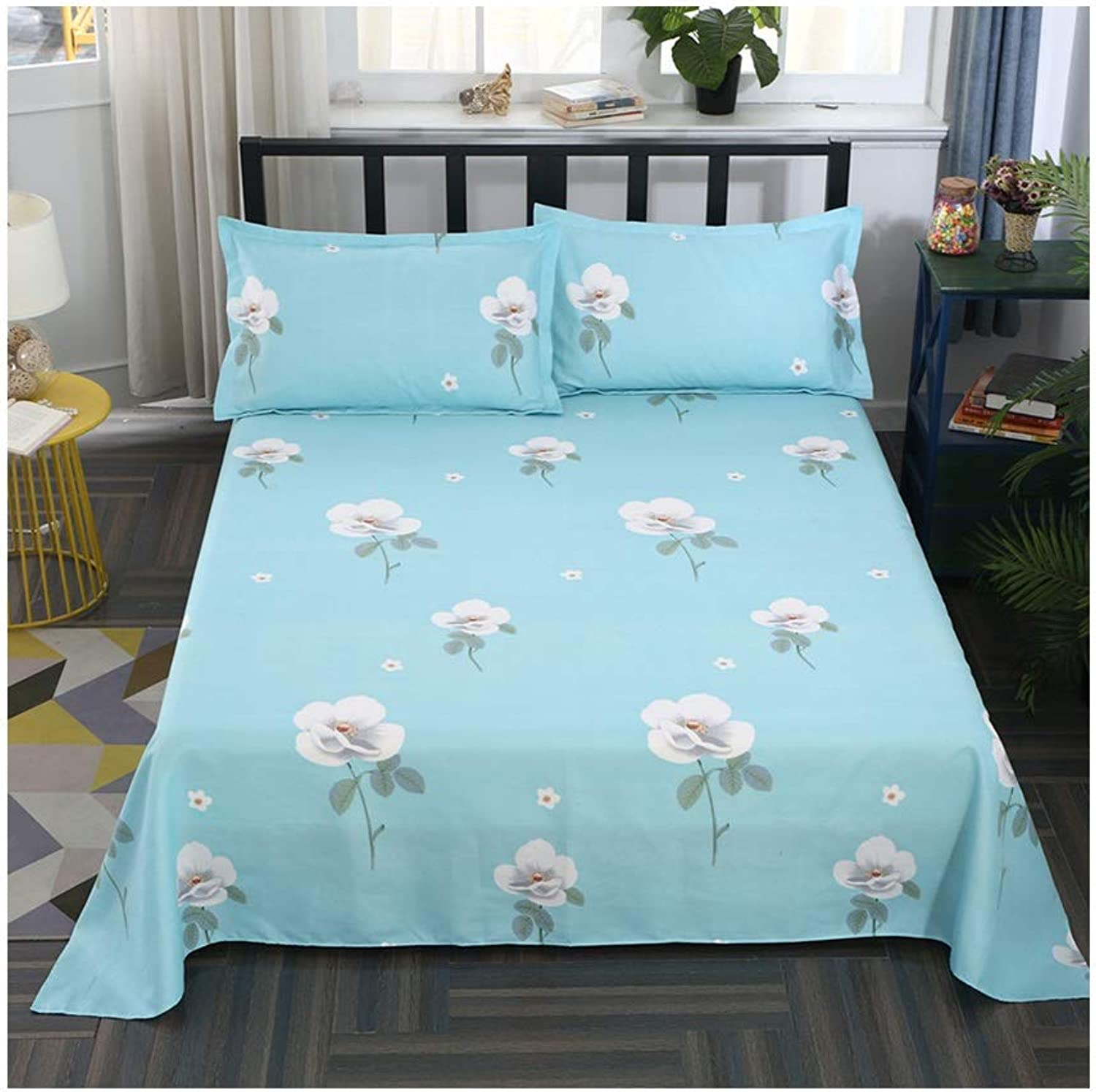 Sheets Single Piece Sanding Thick Single 1.8 1.5 1.2m Female Students Single Dormitory Double 2.5 2.3m Bed Cover (color   C, Size   230  230cm)