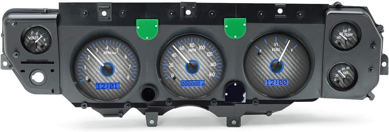 1970-72 Chevy Chevelle VHX System Max 76% OFF Carbon Blue Disp - Face Trust Fiber