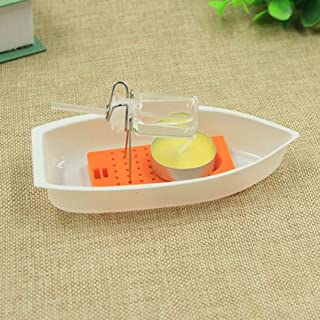 DIY Assembly Kit Candle Power Steam Boat Scinece Experiment Educational Toy-WYKsoku