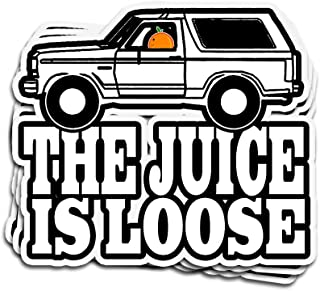 the juice is loose sticker