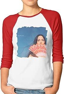 Women's T Shirts Kacey Musgraves Golden Hour Cool 3/4 Sleeve Reglan Baseball Tee XXL