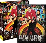 AQUARIUS Elvis Presley & Singles 1000PC Puzzle