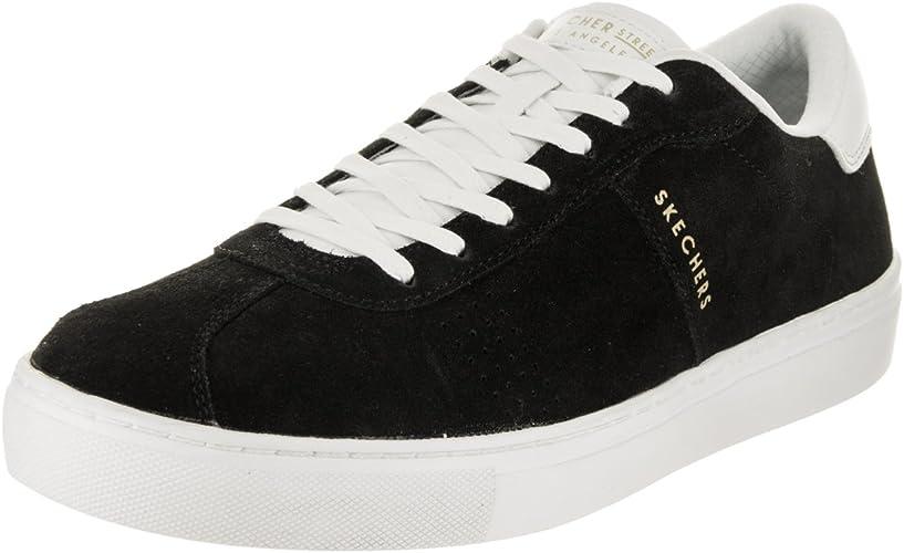 Skechers Hommes's Side rue noir blanc 11 D US
