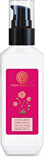 Forest Essentials Ultra-Rich Body Milk Indian Rose Absolute 130ml (Body Lotion)