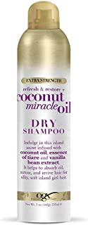 OGX Extra Strength Refresh & Restore + Coconut Miracle Oil Dry Shampoo, 5 Ounce