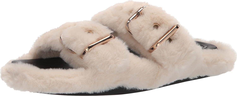 NINE WEST Women's Plush2 Slide Sandal