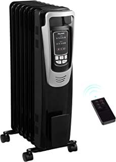 PELONIS Electric 1500W Oil Filled Radiator Heater with Safety Protection, LED Display, 3..