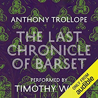 The Last Chronicle of Barset audiobook cover art