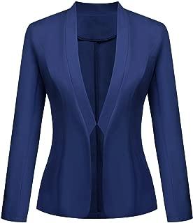 blue and yellow striped blazer