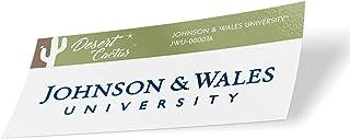 Johnson & Wales University JWU Wildcats NCAA Vinyl Decal Laptop Water Bottle Car Scrapbook (Sticker - 00007A)
