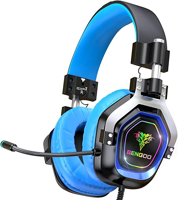 BENGOO Gaming Headset for PS4