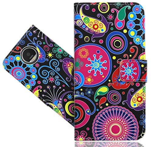 FoneExpert® Moto Z Play Handy Tasche, Wallet Hülle Flip Cover Hüllen Etui Hülle Ledertasche Lederhülle Schutzhülle Für Lenovo Moto Z Play