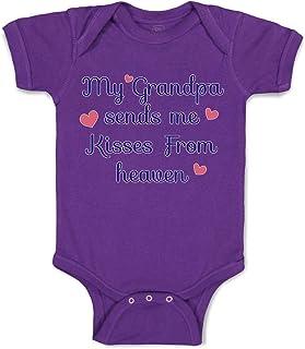 inktastic Gramps Loves Me with Cute Rainbow Unicorn Infant Tutu Bodysuit