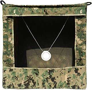 Foldable Camouflage Slingshot Target Box Recycle Archery Hanging Target Case(40x40x40cm) Ammo Case for Catapult Hunting Shooting Practice