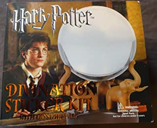 HARRY POTTER Stamps, Sticker Kit with Crystal Ball Orb, Divination, MIB, 2 items