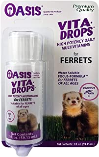 OASIS #80059 Ferret Vita-Drop Vitamins, 2-Ounce