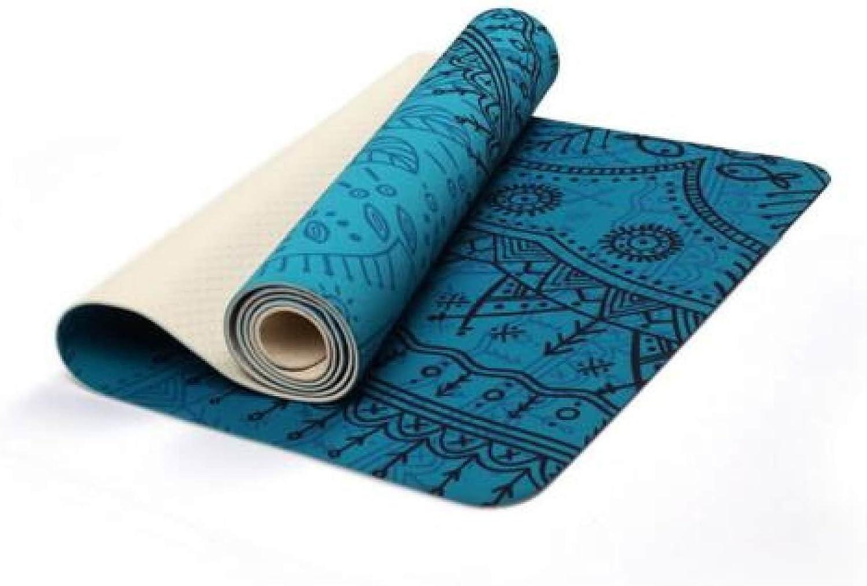 Yoga Mat Foldable Rubber Environmental Fitness Mat Non-Slip Yoga Blanket Sports Mat,A1