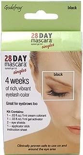Godefroy 28 Day Mascara Lash & Brow Tint Single Black