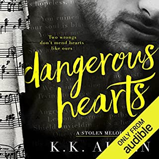 Dangerous Hearts                   By:                                                                                                                                 K.K. Allen                               Narrated by:                                                                                                                                 Lynn Barrington,                                                                                        John Masterson                      Length: 6 hrs and 44 mins     57 ratings     Overall 4.5