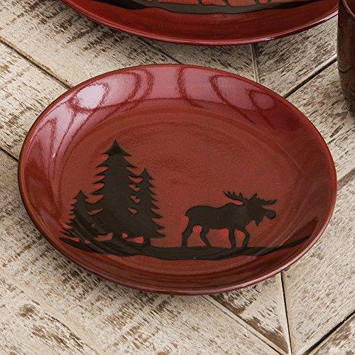 Moose Lodge Stoneware Salad Plate
