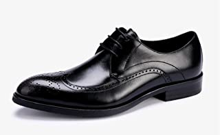 [FOLOIN] フォロイン ビジネスシューズ メンズ 本革 ブローグ オシャレ 高級靴 内羽根 紳士靴 結婚式 通気性