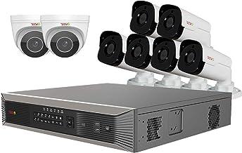 REVO America Ultra Plus 16Ch. 4TB HDD IP NVR Video Surveillance System - 6X 4MP Audio IR Bullet Camera and 2X 4MP Motorized Varifocal Lens Audio Turret Cameras, RUP161BNDL-14