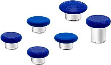 6 in 1 Metal Thumbsticks Grip Joysticks Replacement for...