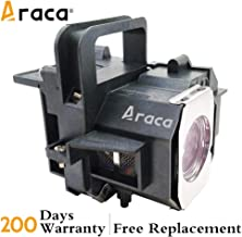 Araca ELPLP49 /V13H010L49 Replacement Projector Lamp with Housing for PowerLite HC 8350 8700UB 8500UB 7500UB 8345 6500UB 9500UB 9700UB H373A H336A H291A(Economical)