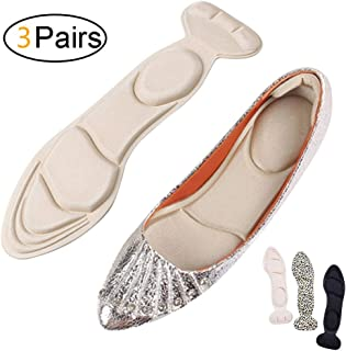 Heel Cushion Inserts - Heel Grips & Shoe Pads for Women-Heel Pads Non-Slip Sponge Insole 2 in 1(22-25CM/US 4.5-7.5)