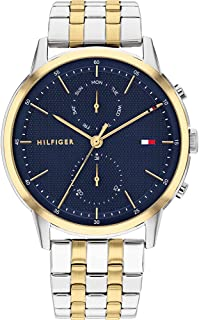 Tommy Hilfiger Men's Analogue Quartz Watch with Stainless Steel Strap 1710432