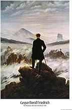 1art1 Caspar David Friedrich - El Caminante sobre El Mar De Nubes, 1818 Póster (91 x 61cm)