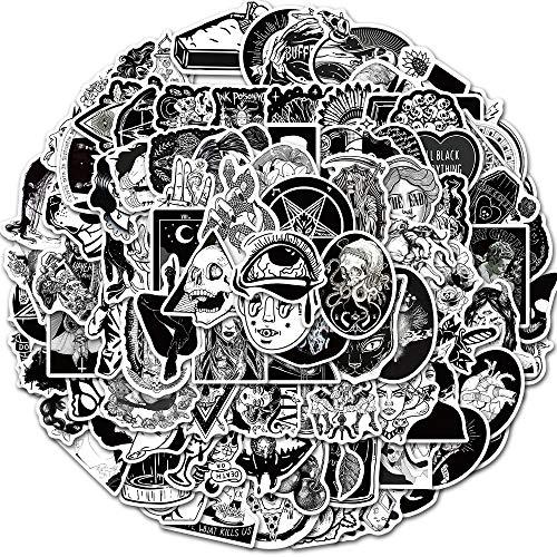 Aufkleber Pack [100 Stück], Sticker Skateboard, Laptop Aufkleber, Verendet Für Koffer, Kombis,Fahrrad, Moto, pro Vinyl-Aufkleber Wasserdichter Aufkleber
