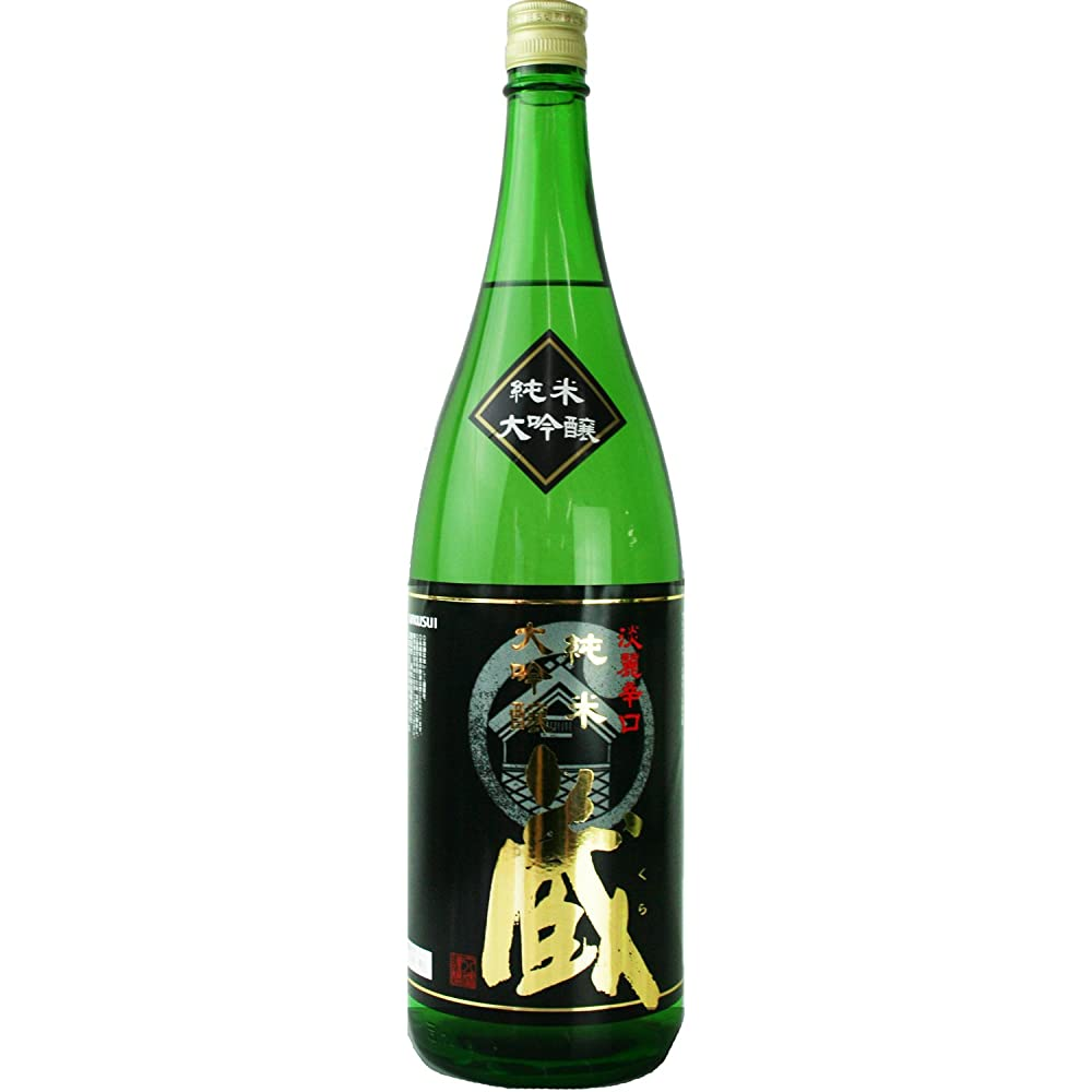 チーズ反対する省略菊水酒造(高知) 純米大吟醸 蔵 [ 日本酒 高知県 1800ml ]
