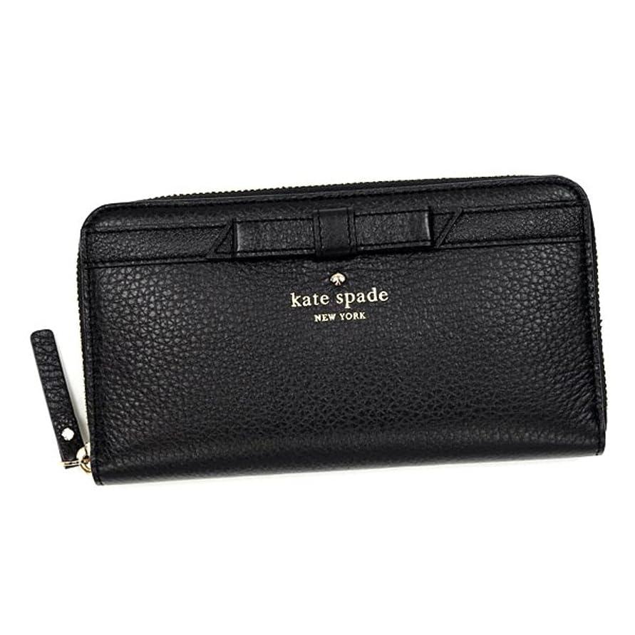 セール歌手ストレスの多いケイトスペード 財布 長財布 KATE SPADE PWRU3940 LACEY 1 BLACK 並行輸入品