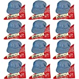 Funny Party Hats Childs Train Conductor Dress Up Kit - Hat, Whistle, and Bandana (12 per Package)