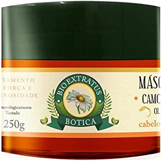 Linha Botica (Camomila) Bio Extratus - Mascara Hidratante Tratamento Intensivo 250 Gr - (Bio Extratus Apothecary(Chamomile...
