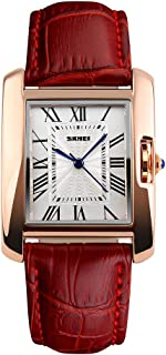 Andoer 1085 Fashionable Retro Style 3ATM Waterproof Quartz Women's Watch with Leather Strap